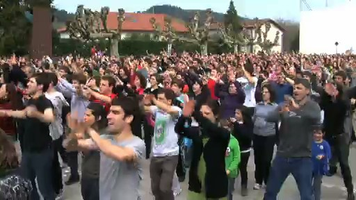 Flash mob, zaborrak